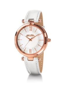 Folli Follie Lady bubble white watch