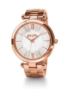 Folli Follie Lady bubble rose gold watch