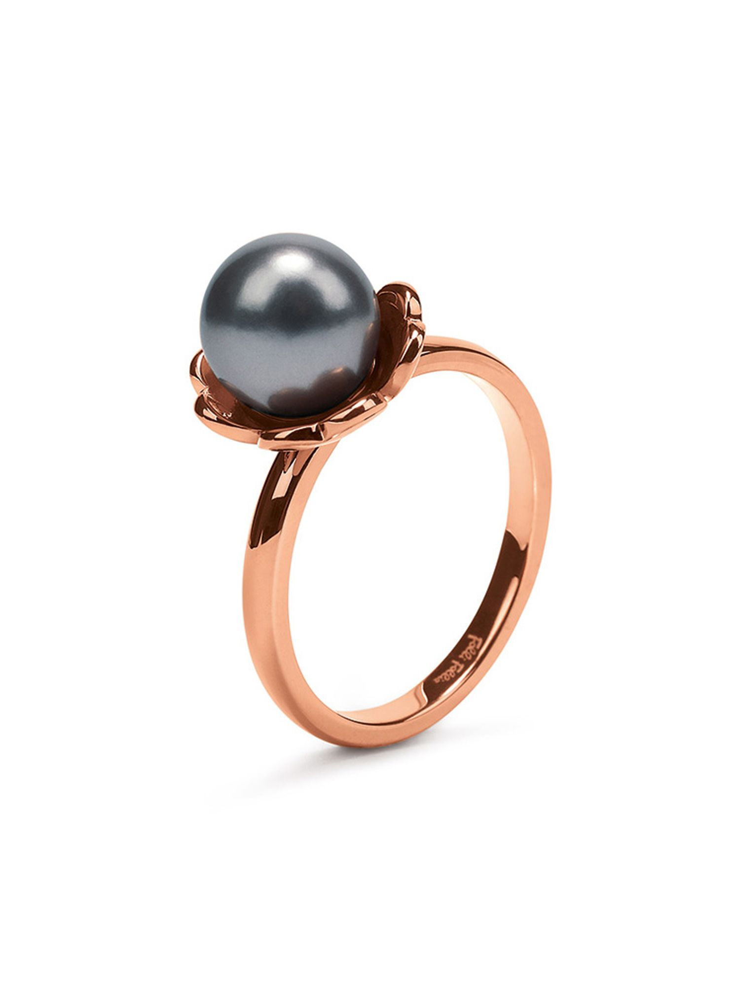 folli follie grace flair blue pearl ring