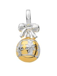 Links of London Silver & gold vermeil star bauble charm