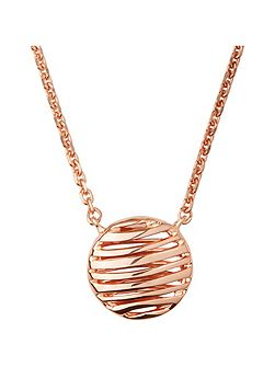 Thames 18kt rose gold vermeil necklace