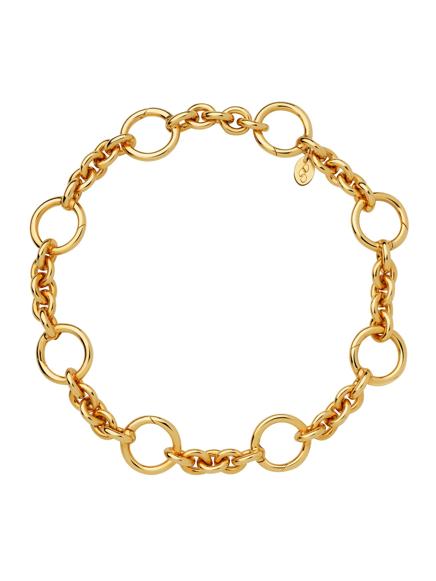 Links of London 18kt Gold Vermeil Capture Bracelet, Gold Yellow
