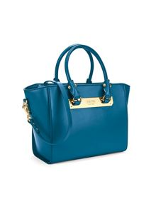 Folli Follie Style Code Blue Medium Tote