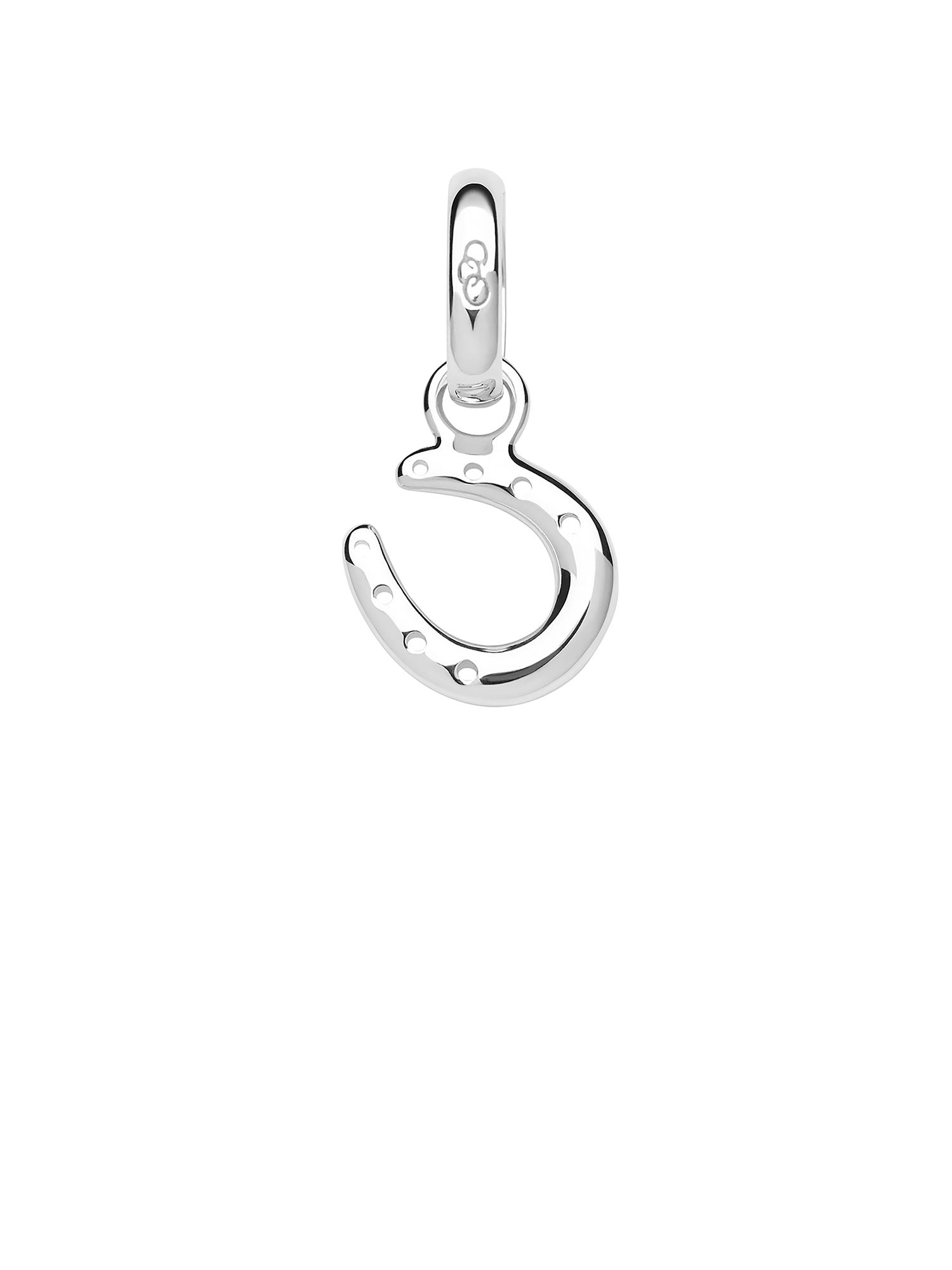 Links of London Ascot Sterling Silver Horseshoe Charm, Silver