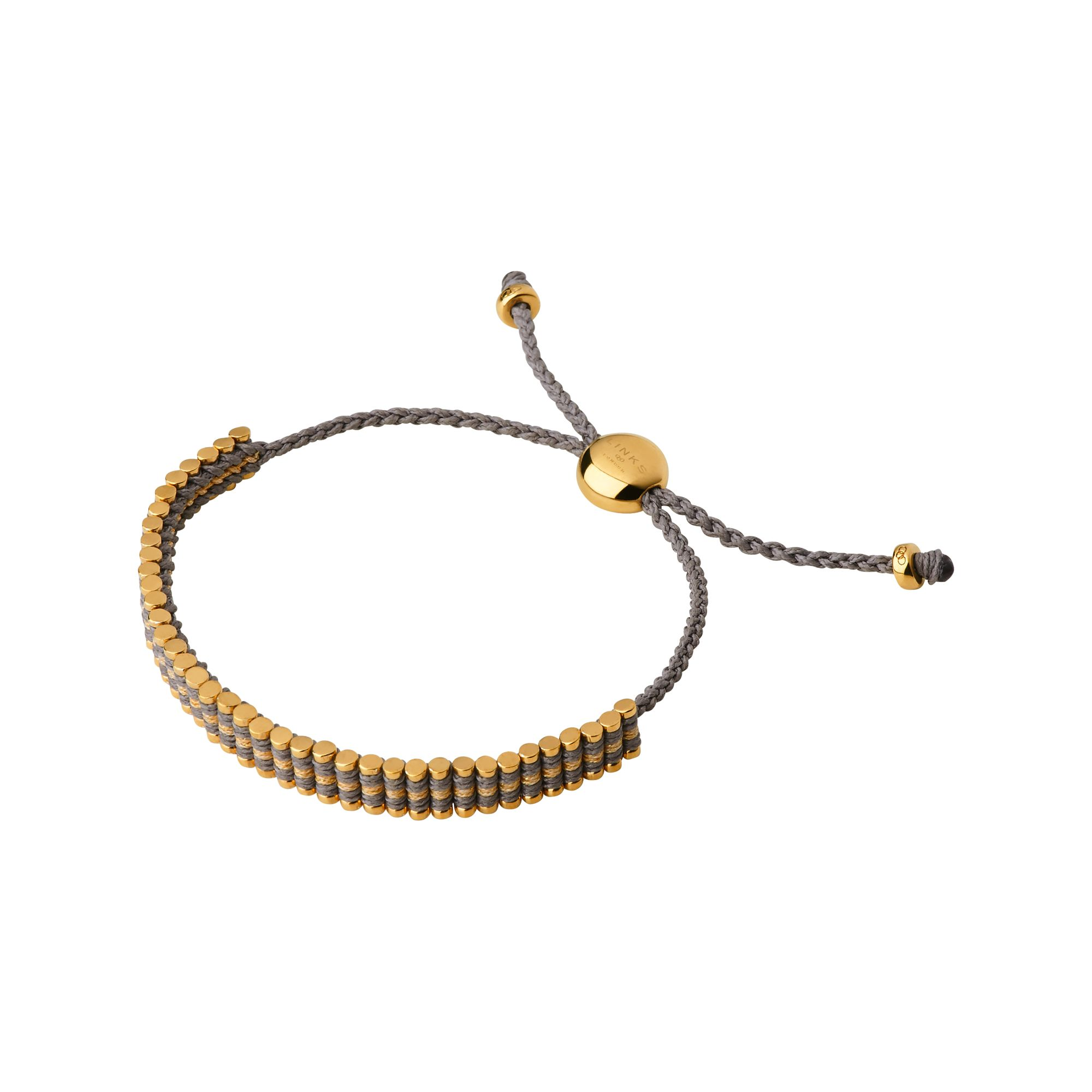 Links of London 18K Gold Vermeil & Gold Glitter Bracelet, Gold