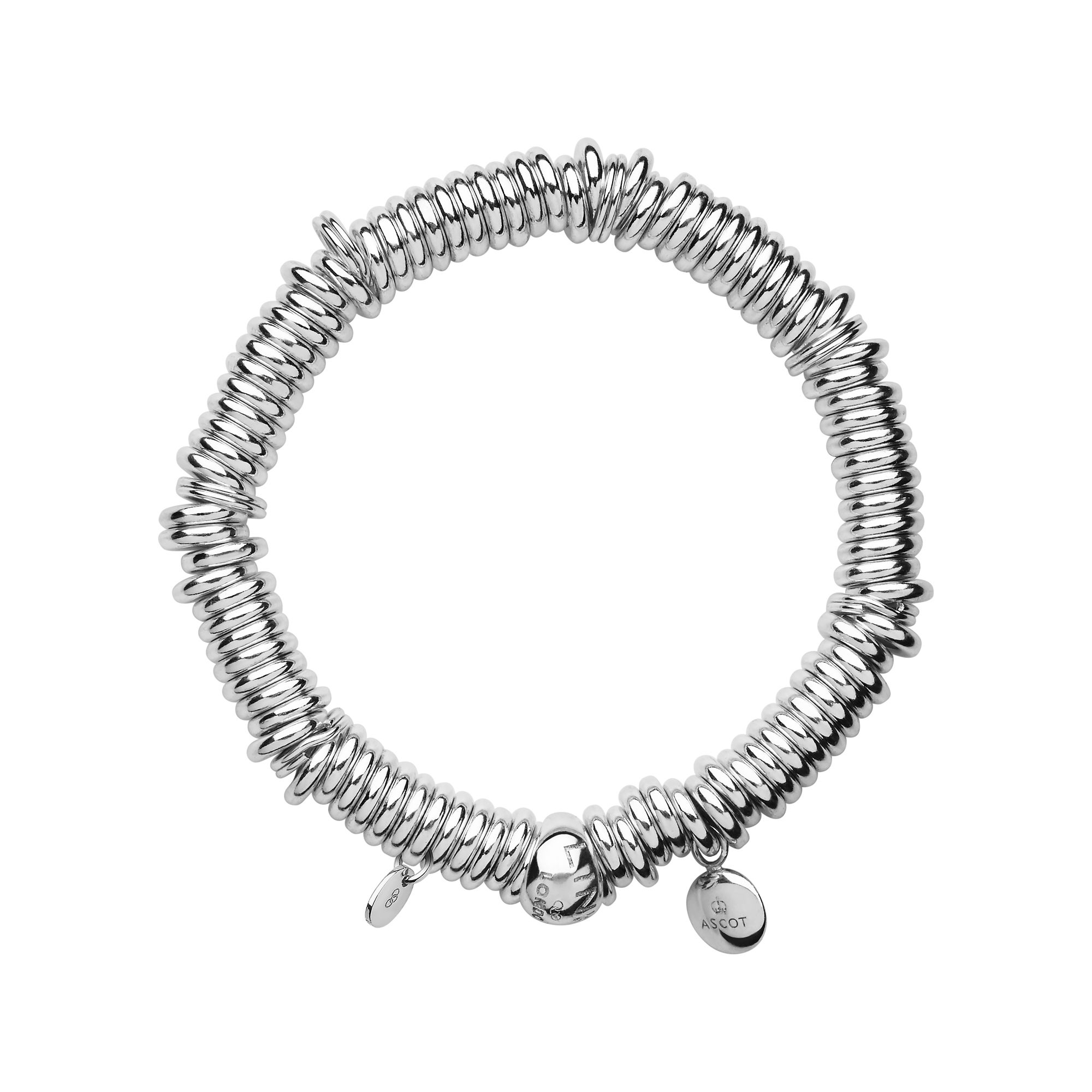 Links of London Ascot Sterling Silver Sweetie Charm Bracelet, Silver