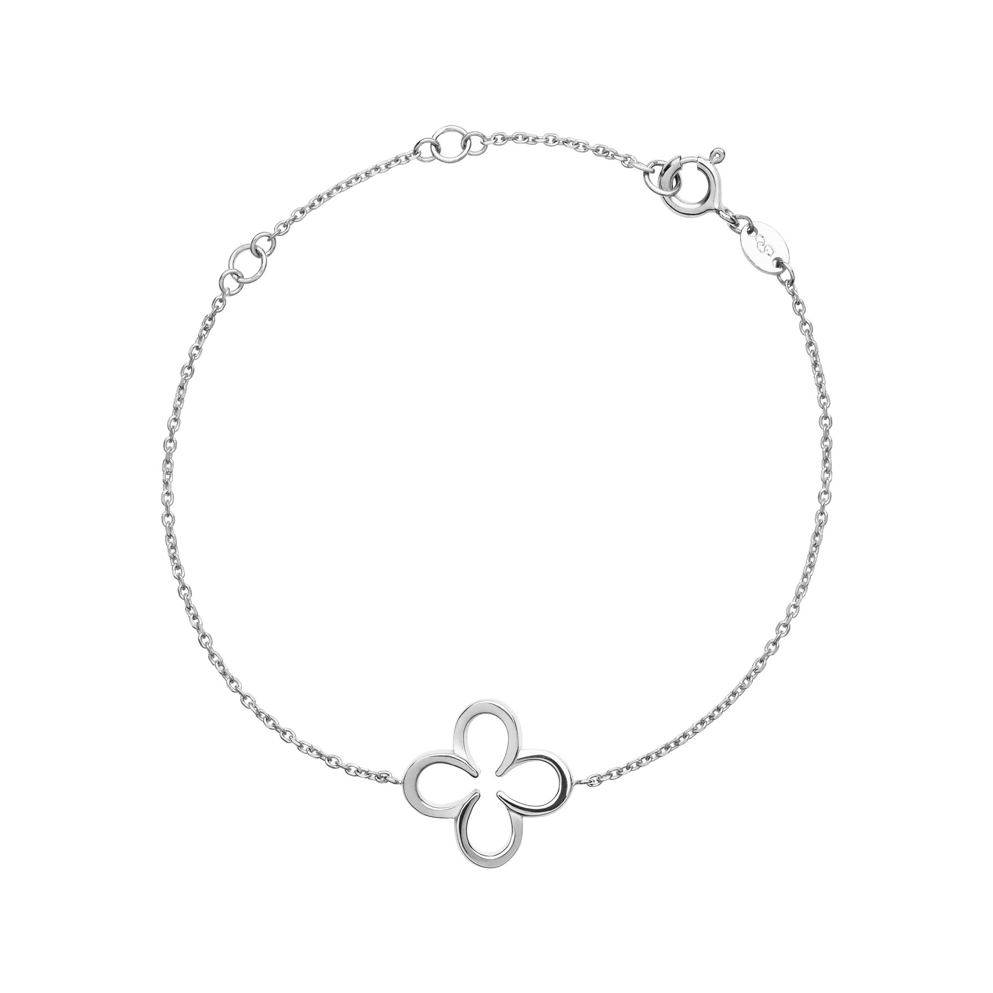 Links of London Ascot Sterling Silver Lucky Clover And Horseshoe, Silver