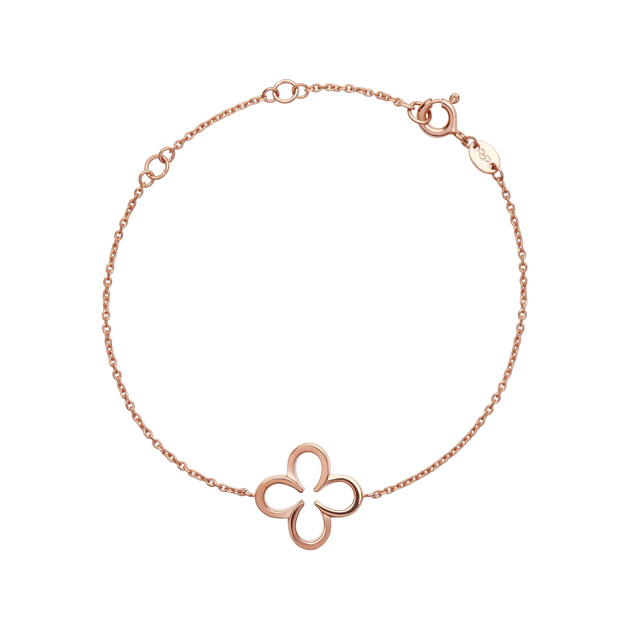 Links of London Ascot 18Kt Rose Gold Vermeil Lucky Clover And Hor, Rose Gold