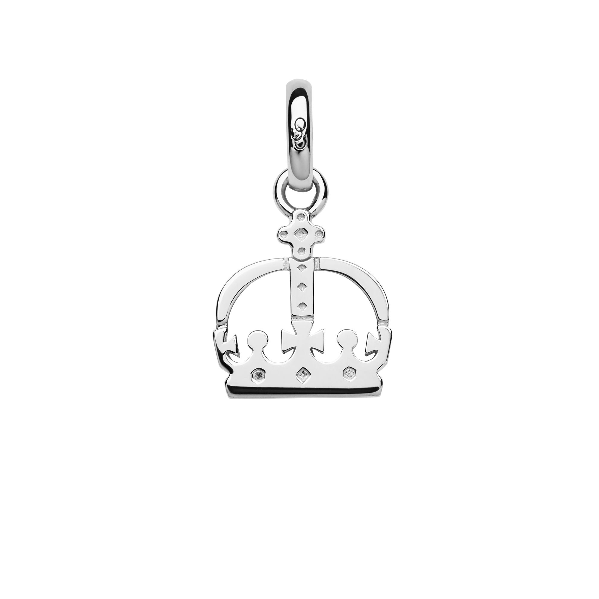 Links of London Ascot Sterling Silver Crown Charm, Silver
