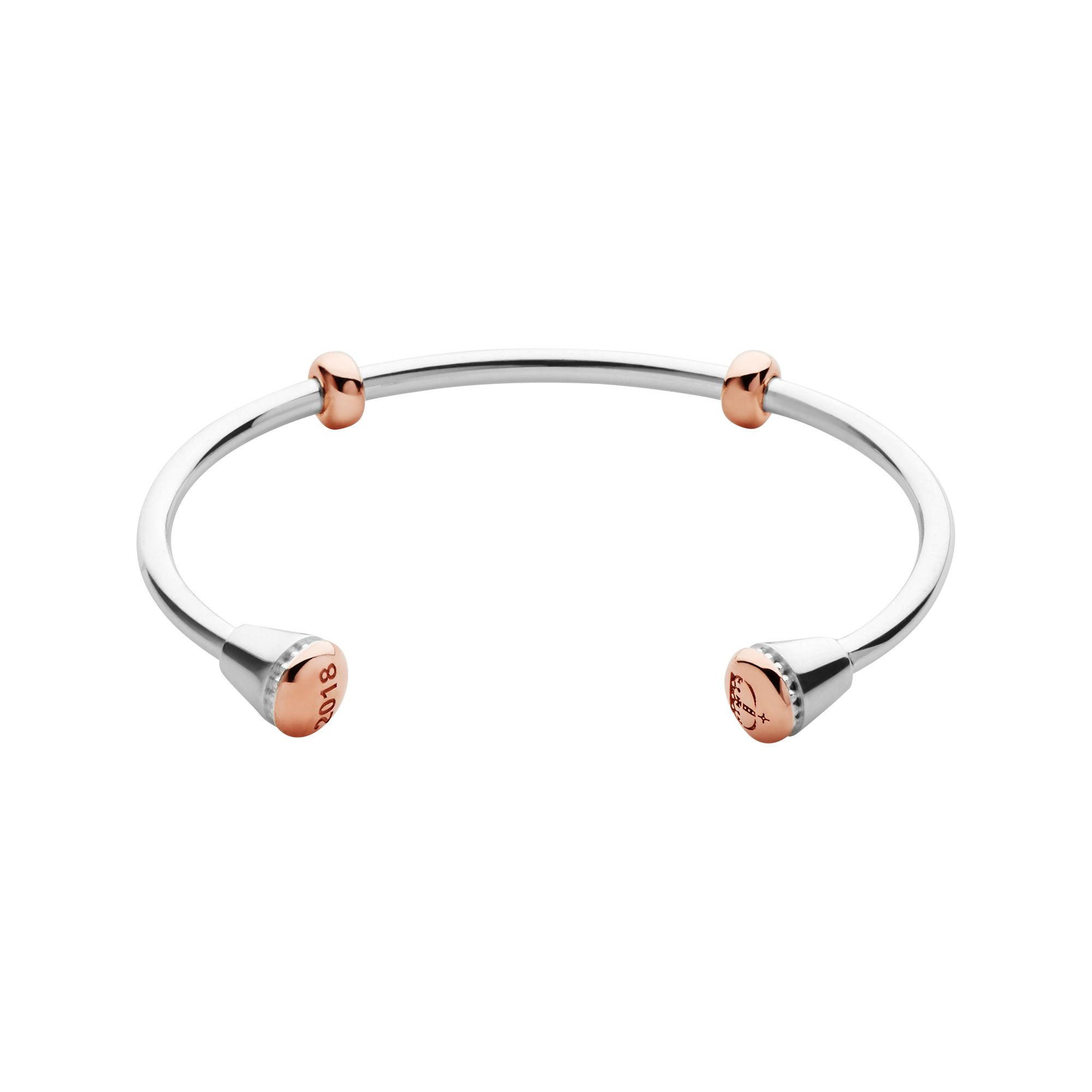 Links of London Ascot 2018 Sterling Silver & Rose Gold Vermeil Am, Silver
