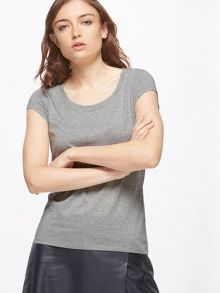 Jigsaw Pima Cotton Sleeve Tee
