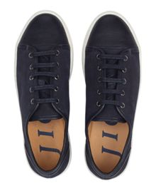 Jigsaw Ayda leather trainers