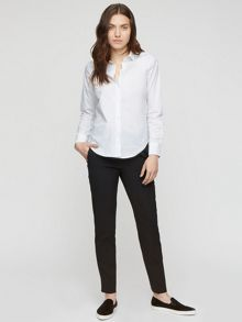 Jigsaw White Cotton Shirt