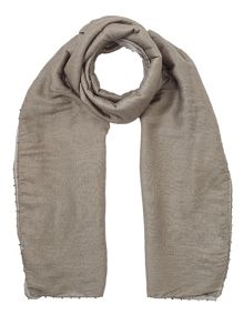 Jigsaw Ombre oversized bead scarf