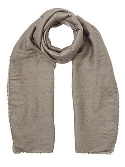 Ombre oversized bead scarf