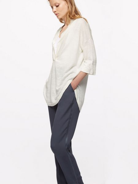 Jigsaw Linen V Neck Tunic