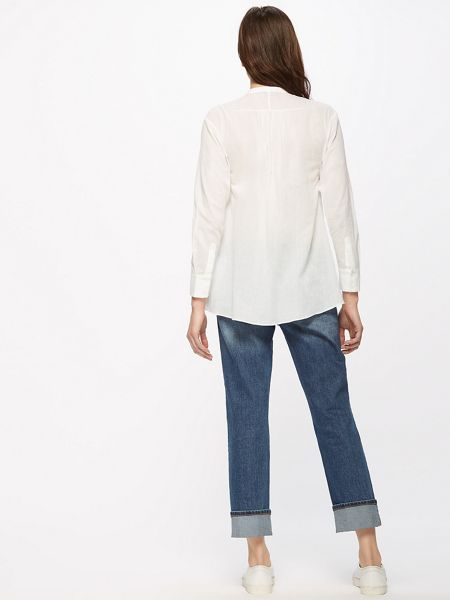 Jigsaw Cotton Pintuck Shirt