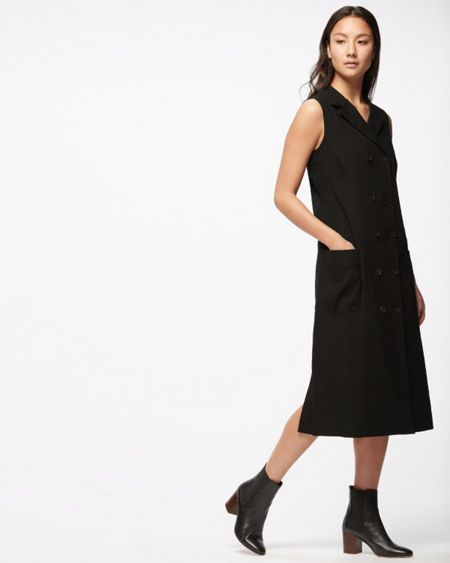 Jigsaw Artisan Tailoring Linen Dress
