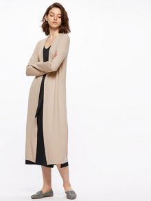Jigsaw Long Rib Cardigan