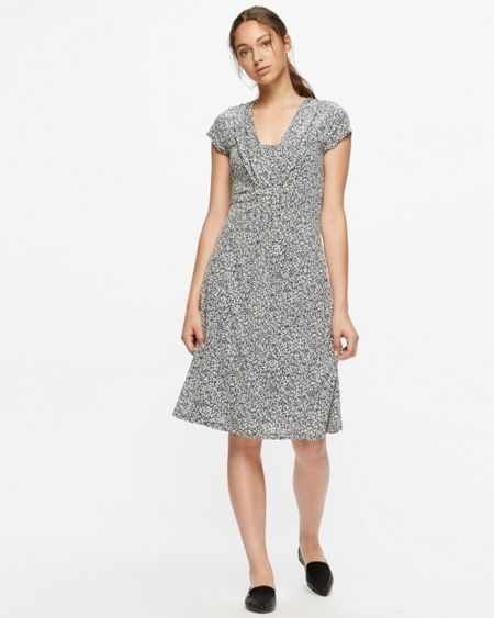 Jigsaw Confetti Fit And Flare Dress
