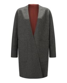 Jigsaw Double Faced Sculpted Coat