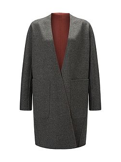 Double Faced Sculpted Coat