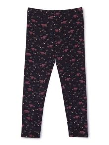 Jigsaw Girls Bear Print Leggings