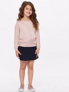 Jigsaw Girls Textured Front Long Sleeve Top