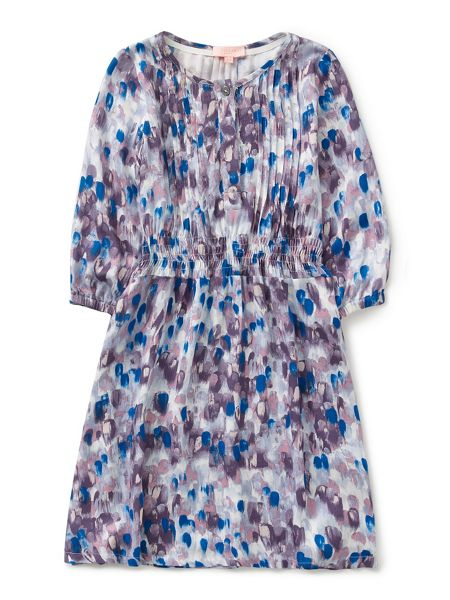 Jigsaw Girls Rain Print Dress