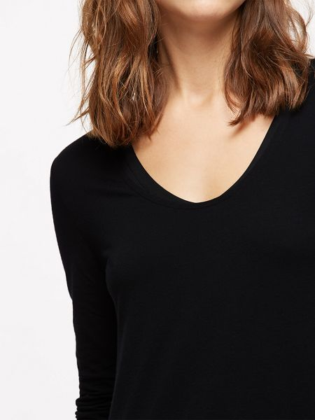 Jigsaw Double Layer Long Sleeve Tee