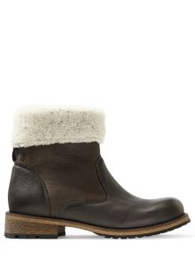 Jigsaw Rae shearling lined boot
