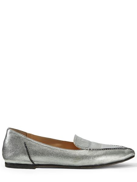 Jigsaw Celeste stitch pointed flat pumps