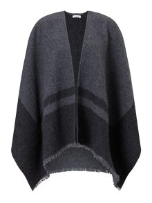 Jigsaw Sylvie blanket wrap cape