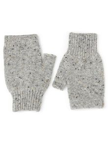 Jigsaw Hana donegal fingerless mittens