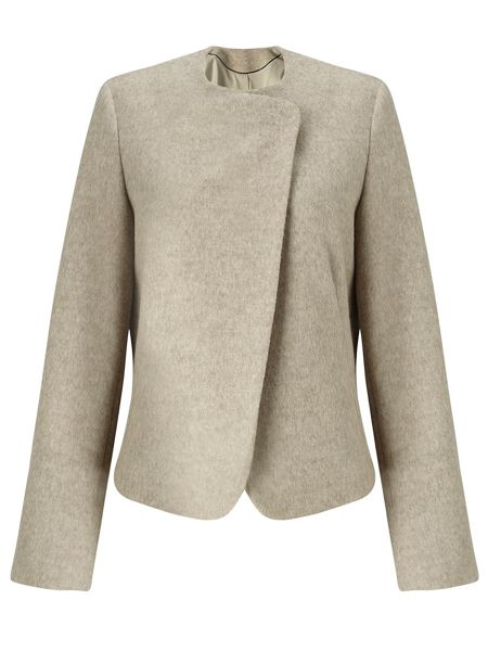 Jigsaw Soft Wool Melange Jacket