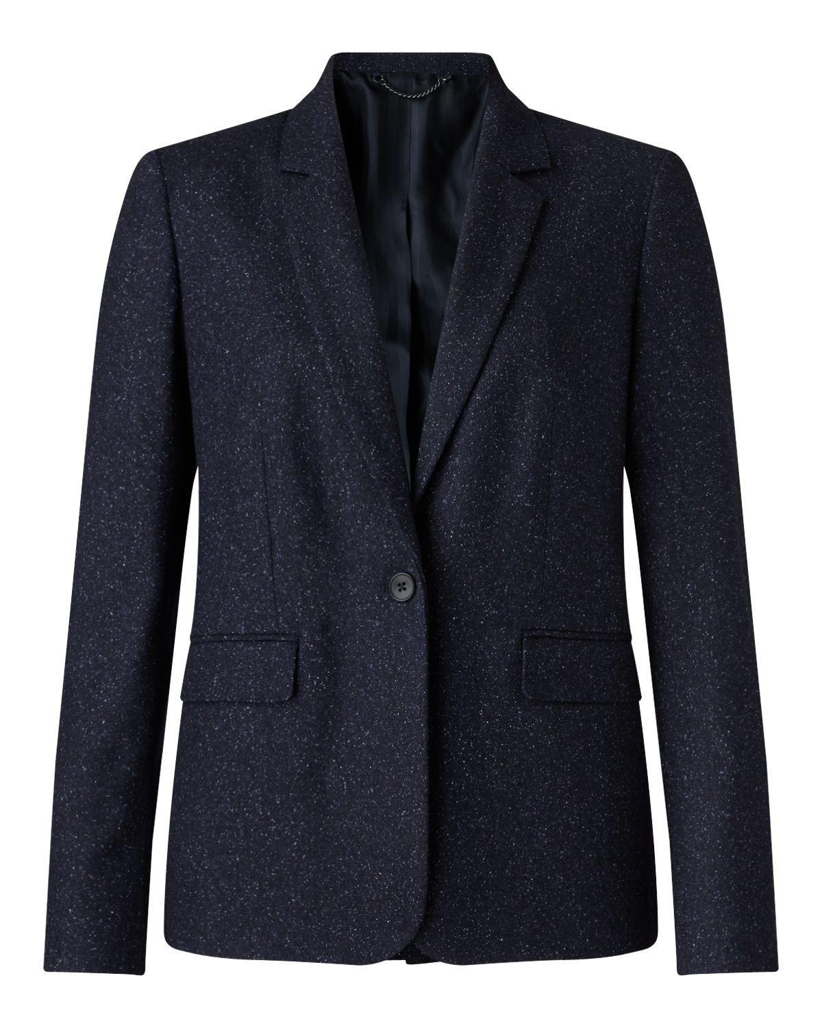 Jigsaw Flecked Tailoring London Jkt, Blue