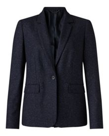 Jigsaw Flecked Tailoring London Jkt