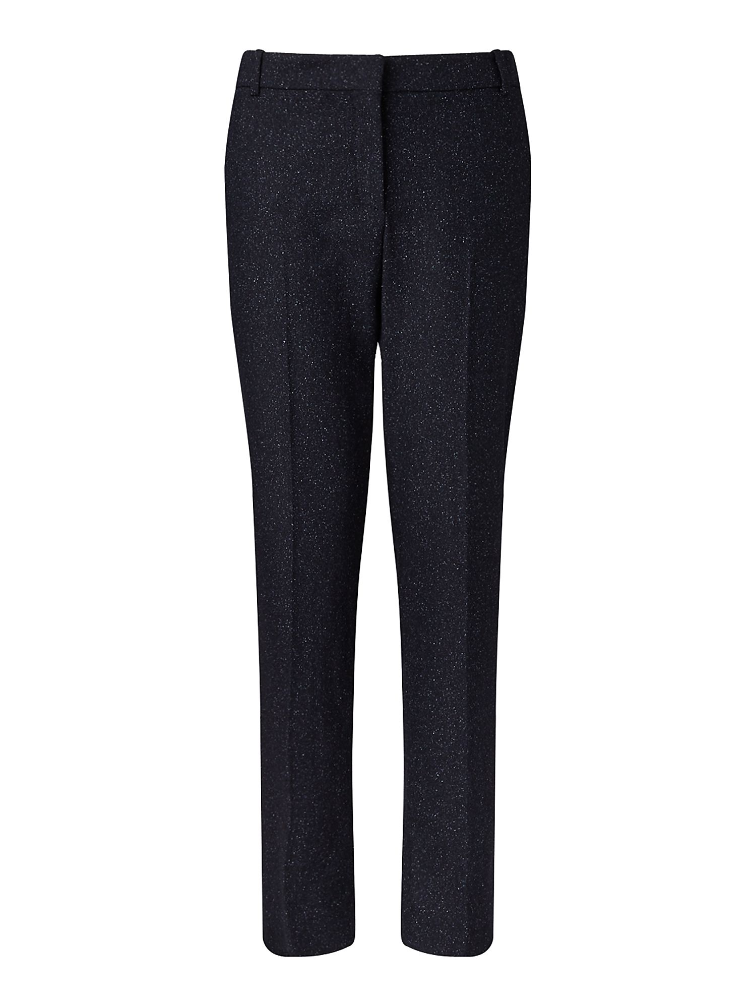Jigsaw Flecked Tailoring London Trs, Blue
