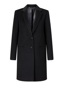 Jigsaw Sb City Wool Coat