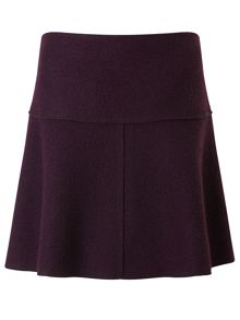 Jigsaw Boiled Wool Flippy Skirt