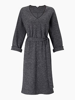Herringbone Jersey Dress
