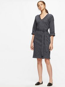 Jigsaw Herringbone Jersey Dress