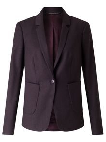 Jigsaw Wool Flannel London Jacket