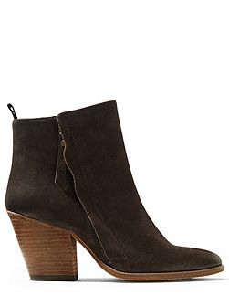 Adyson side zip suede boot