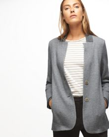 Jigsaw Double Knit Rib Jacket