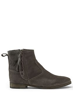 Charlie suede western boot