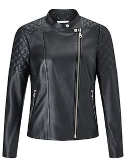 Nappa Leather Biker Jacket