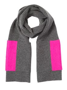 Jigsaw Shona scarf with contrast pockets