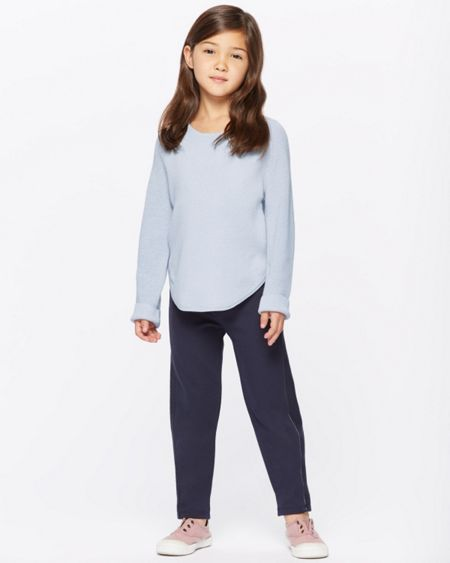 Jigsaw Girls Cotton Side Split Sweatshirt