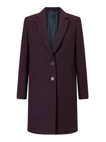 Jigsaw Compact Wool Coat